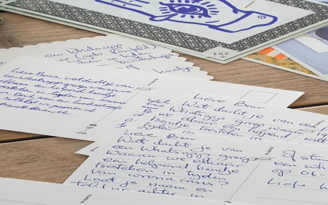 Journal: Leven en Werken in Tijden van Corona – aan de frontlinie.